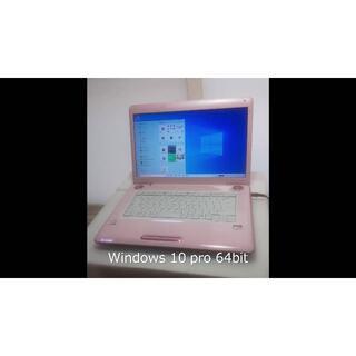 東芝 - ☆ノートパソコン dynabook 4GB 64bit ピンク
