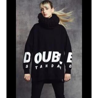 DOUBLE STANDARD CLOTHING - ダブルスタンダード ロゴ ロングTシャツ