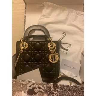 クリスチャンディオール(Christian Dior)の美品 Christian Dior レディディオール(ハンドバッグ)