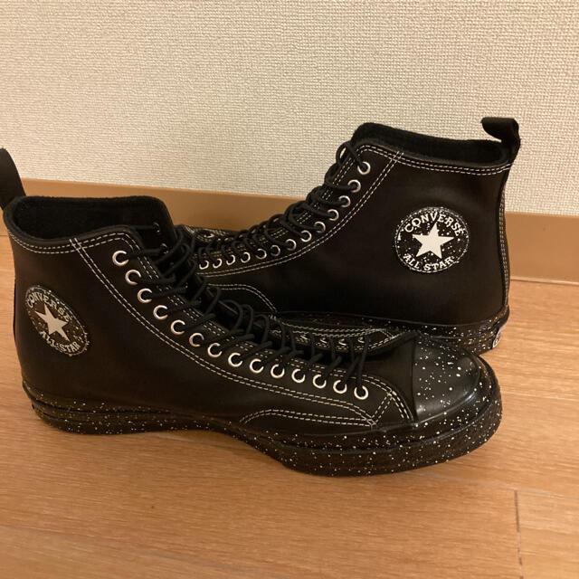 CONVERSE(コンバース)のCT70 ブラックレザー チャックテイラー レア メンズの靴/シューズ(スニーカー)の商品写真