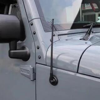 ジープ(Jeep)のジープ ラングラー ラバーショートアンテナ jeep(車外アクセサリ)