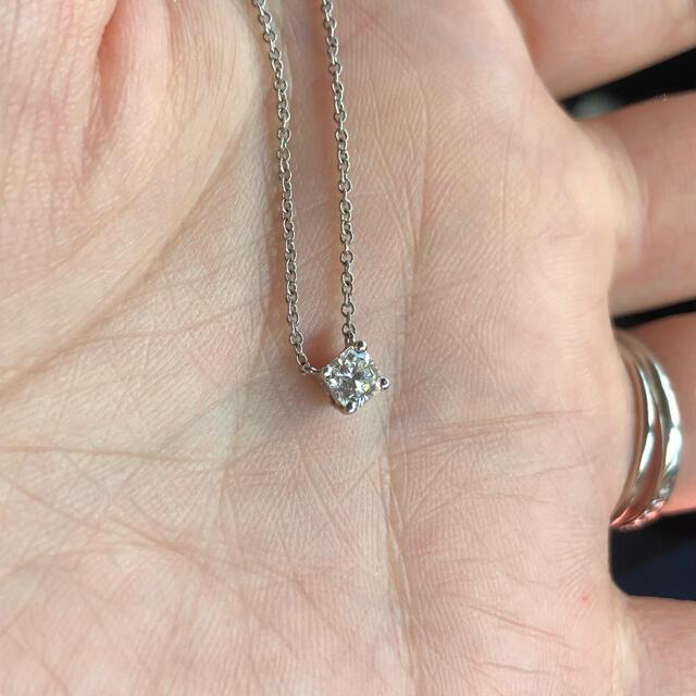 Tiffany & Co.(ティファニー)の最終値下げ!ティファニー ルシダ PT950ダイヤモンドネックレス レディースのアクセサリー(ネックレス)の商品写真