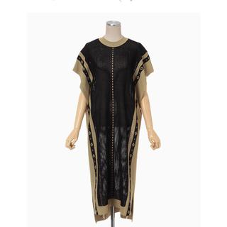マメ(mame)のmame kurogouchi  Knitted Dress /ワンピース(ロングワンピース/マキシワンピース)