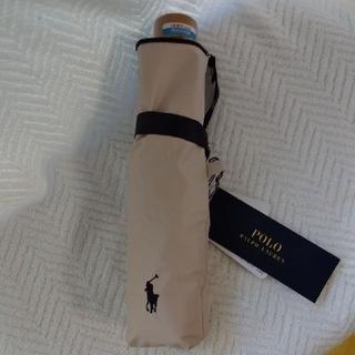 POLO RALPH LAUREN - ラルフローレン 日傘 折り畳み傘 ベージュ