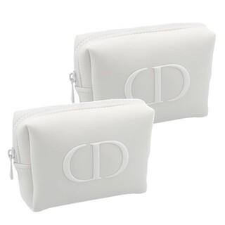 Dior - Dior ディオール ノベルティ ポーチ 化粧ポーチ コスメポーチ ホワイト