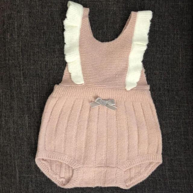 petit main(プティマイン)の新品未使用 プティマイン  ロンパース キッズ/ベビー/マタニティのベビー服(~85cm)(ロンパース)の商品写真