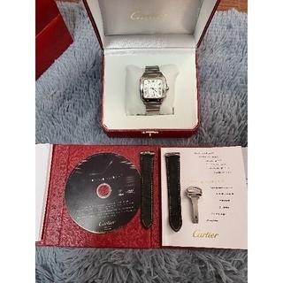 Cartier - 最終値下げ!■ほぼ新品■ サントスドゥカルティエ LM WSSA0018