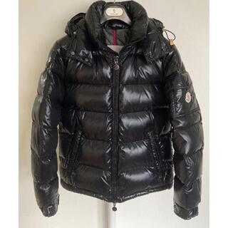 サイズ4 モンクレール マヤMAYA ブラック ダウンジャケット 新品本物