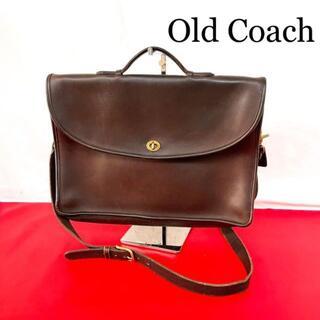 COACH - Old Coach 2way ビジネスバッグ ショルダーバッグ