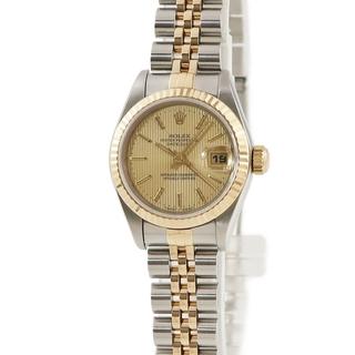 ロレックス(ROLEX)のロレックス  デイトジャスト 69173 自動巻き レディース 腕時計(腕時計)