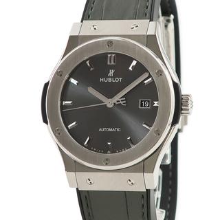 ウブロ(HUBLOT)のウブロ  クラシック フュージョン チタニウム レーシンググレー 542(腕時計(アナログ))