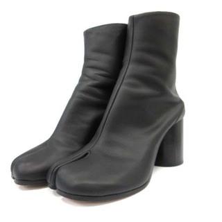マルタンマルジェラ 22 メゾンマルジェラ TABI 足袋 ブーツ 黒 38