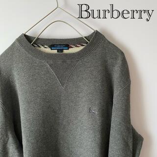 バーバリー(BURBERRY)のBurberryバーバリーノバチェックLlグレースウェットトレーナーシューホース(スウェット)