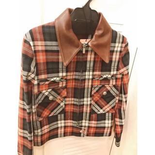 ミュウミュウ(miumiu)のmiumiu ジャケット コート(テーラードジャケット)