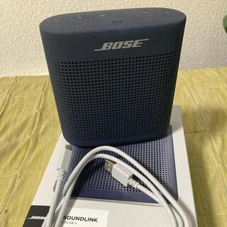 ボーズ(BOSE)のBOSE SoundLink color 2 Ⅱ スピーカー ネイビー(スピーカー)