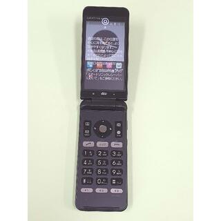 キョウセラ(京セラ)の新品未使用 au 京セラ GRATINA 4G KYF31 ブラック 一括購入(携帯電話本体)