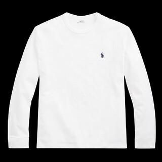 ラルフローレン(Ralph Lauren)の新作! RALPH LAUREN ロンT ホワイト 国内正規品 メンズ(Tシャツ/カットソー(七分/長袖))