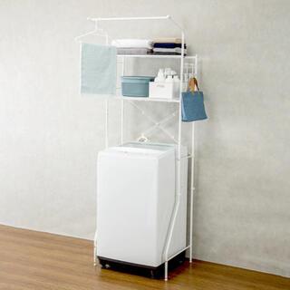 ニトリ(ニトリ)の洗濯機ラック クルス(ピュアホワイト) / ニトリ(洗濯機)