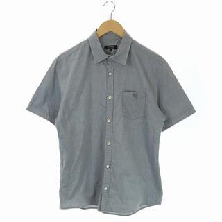 バーバリーブラックレーベル(BURBERRY BLACK LABEL)のバーバリーブラックレーベル BURBERRY シャツ 半袖 3 グレー(シャツ)