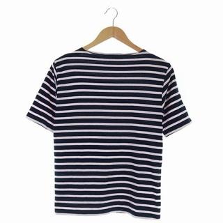 セントジェームス(SAINT JAMES)のセントジェームス Tシャツ カットソー ボートネック 半袖 ボーダー ピンク 紺(Tシャツ/カットソー(半袖/袖なし))