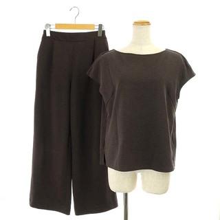 プラステ(PLST)のプラステ PLST 20SS セットアップ 上下 カットソー半袖 パンツ(カットソー(半袖/袖なし))