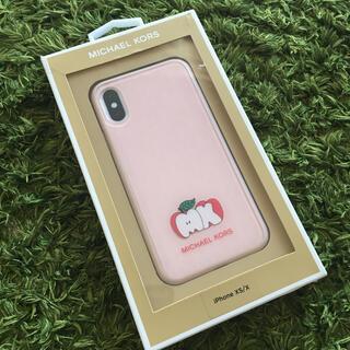 マイケルコース(Michael Kors)の【新品未使用】MICHAEL KORS CASE  iPhone X/XSケース(iPhoneケース)