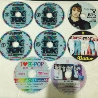 DVD 洋楽  DVD K-POP  DVD BTS  8枚まとめて