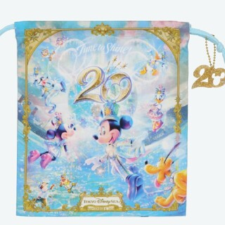 Disney - Disney sea 20周年 巾着