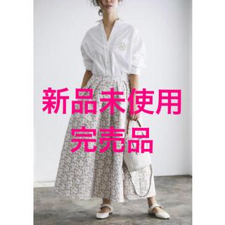 ドゥロワー(Drawer)の♡新品未使用♡ジャガードフラワースカート♡seventen♡セブンテン(ロングスカート)