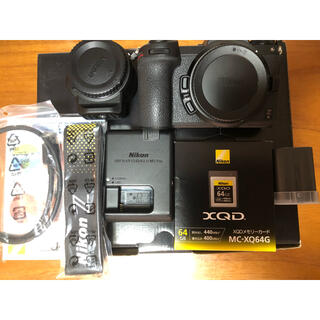 Nikon - Nikon Z6 FTZ マウントアダプターキット Xqd カード