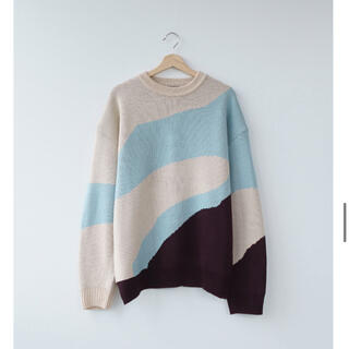 1LDK SELECT - nomaly knit 柄ニット セーター