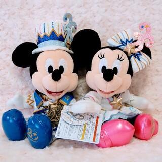 Disney - ディズニーシー 20周年 ぬいぐるみ ペア ミッキー ミニー