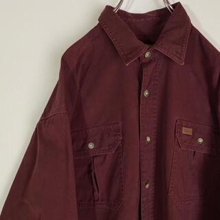 carhartt - カーハート ワークシャツ carhartt  ビックシルエット 90s