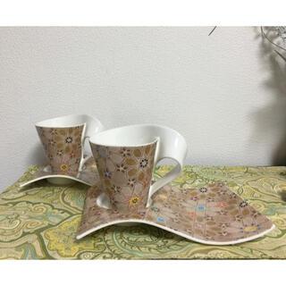 ビレロイアンドボッホ(ビレロイ&ボッホ)のビレロイボッホ  ニューウェーブ 限定 アラビア柄 カップ&ソーサー (グラス/カップ)