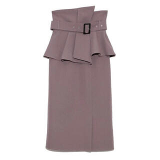 snidel - snidel コルセットスカート