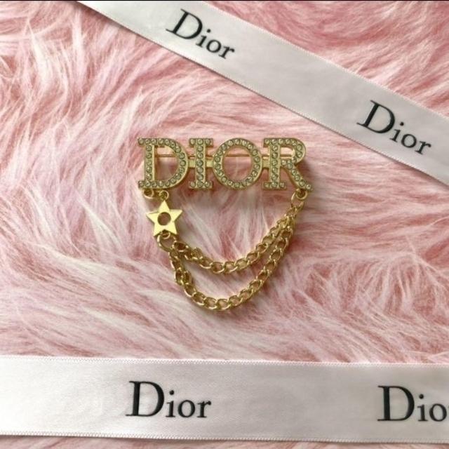 Dior(ディオール)のディオール ブローチ レディースのアクセサリー(ブローチ/コサージュ)の商品写真