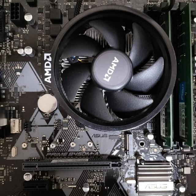 訳あり RYZEN 3 3200G セット スマホ/家電/カメラのPC/タブレット(PCパーツ)の商品写真