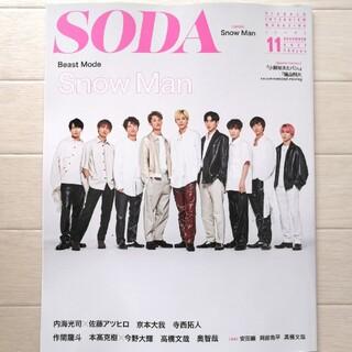 SODA (ソーダ) 2021年 11月号 切り抜きなし