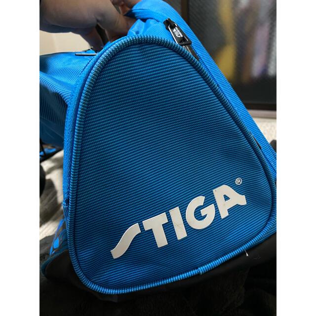 STIGA 卓球バッグ 青 スポーツ/アウトドアのスポーツ/アウトドア その他(卓球)の商品写真
