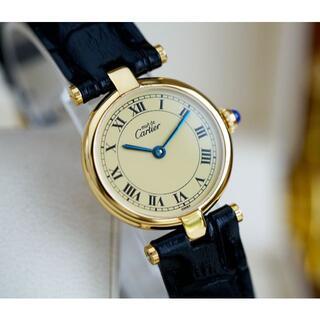Cartier - 美品 カルティエ マスト ヴァンドーム アイボリー ローマン SM