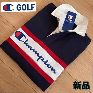Champion - L新品定価1.2万円 チャンピオン 長袖ポロシャツ  メンズ