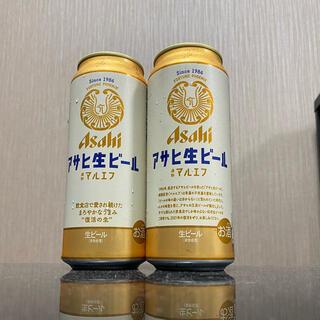 アサヒ(アサヒ)のアサヒ生ビール『マルエフ』500ml × 2缶(ビール)