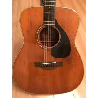 ヤマハ(ヤマハ)のYAMAHA FG180赤ラベル vintage1969〜−1970頃(アコースティックギター)
