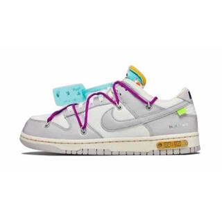 NIKE - OFF-WHITE × NIKE DUNK LOW 1 OF 50 21