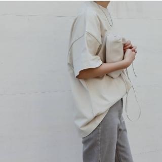 DEUXIEME CLASSE - MACHATT マチャット オーバーサイズTシャツ F ベージュ