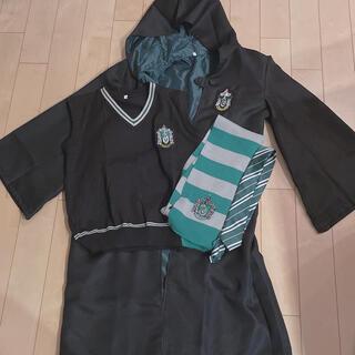 スリザリン コスプレ衣装 ハロウィン USJ ベスト セット(衣装一式)