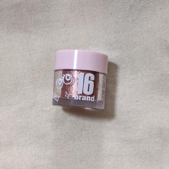 M16(エムシックスティーン)の16brand コスメ/美容のベースメイク/化粧品(アイシャドウ)の商品写真