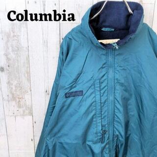 コロンビア(Columbia)のコロンビア マウンテンジャケット グリーン(緑)L(マウンテンパーカー)