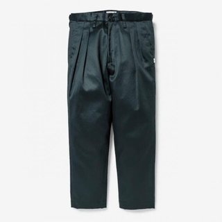 W)taps - 希少 S WTAPS 21SS TUCK 02 TROUSERS GREEN