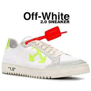 OFF-WHITE - OFF-WHITE オフホワイト 2.0 SNEAKER スニーカー 41